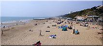 SZ1191 : Boscombe Beach, Dorset by Kim Freeman