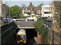 TQ3877 : Railway under Greenwich Church Street by Stephen Craven