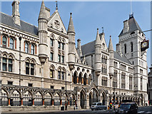 TQ3181 : The Royal Courts of Justice by John Allan