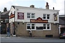 SE0922 : The Murgatroyd Arms, Skircoat Green by Richard Kay