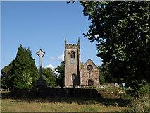SK1543 : St. Peter's Church, Snelston by Andrew Abbott