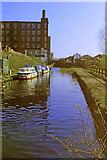 SJ9398 : Ashton Canal into Ashton under Lyne, 1984 by Robin Webster