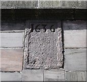 J4974 : Date stone, Newtownards by Rossographer