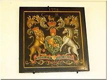 SD1095 : Coat of Arms, St John's Church by Maigheach-gheal