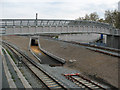 TQ3578 : Footbridge at Deptford Road Junction by Stephen Craven