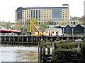 NZ2563 : Hilton Hotel, Gateshead by Andrew Curtis