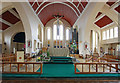 TQ1372 : St Augustine of Canterbury, Hospital Bridge Road, Whitten, London TW2 6DE - Chancel by John Salmon