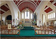 TQ1372 : St Augustine of Canterbury, Hospital Bridge Road, Whitten, London TW2 6DE - Chancel by John Salmon