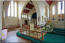 TQ1372 : St Augustine of Canterbury, Hospital Bridge Road, Whitten, London TW2 6DE - Interior by John Salmon
