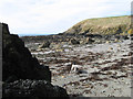 SH2035 : Bouldery shore by Jonathan Wilkins