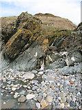 SH2035 : Waterfall to beach by Jonathan Wilkins
