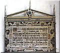 TF5520 : The church of St Clement - C17 prayer board by Evelyn Simak