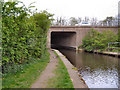 SD8809 : Rochdale Canal, Bridge 65b by David Dixon