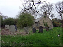 SM9533 : Llanstinan church in spring by ceridwen
