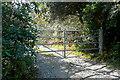 R1677 : Estate entrance by Graham Horn