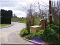 TM2952 : Lodge Road, Ufford by Adrian Cable