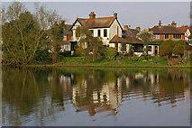 TQ2255 : Mere Pond by Ian Capper