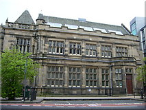 NT2674 : Macdonald Road Library off Leith Walk by kim traynor