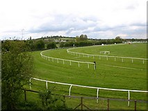 SP1853 : Stratford Racecourse from the Greenway by David P Howard