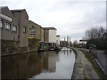 SE1437 : Industrial buildings near Otley Road by DS Pugh