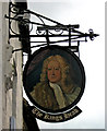 SP4416 : The King's Head sign, 11 Park Lane by P L Chadwick