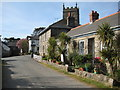 SW4538 : Houses in Zennor by Philip Halling