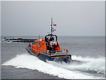 SW3526 : Putting the lifeboat through its paces 2 by Rod Allday