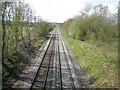 SU9889 : Chalfont St Peter: Chiltern Railway line by Nigel Cox