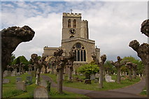 SP7006 : Thame church by Roger Davies