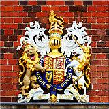 SY6878 : Coat of Arms, Custom House, Weymouth by Brian Robert Marshall