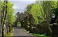 J2458 : The road to Hillsborough fort (2) by Albert Bridge