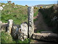 SW4538 : Footpath to Zennor by Philip Halling