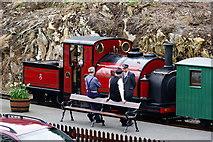 SH6441 : Prince at Tan-y-Bwlch Station, Gwynedd by Peter Trimming