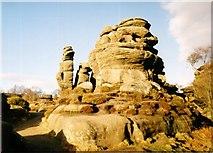 SE2065 : Brimham Rocks, North Yorks by sheena pawson