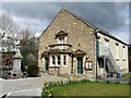 NY8837 : Village Hall & War Memorial, St John's Chapel by Andrew Curtis