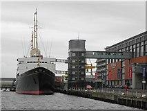 NT2677 : Royal Yacht Britannia by Kenneth  Allen