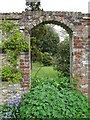 TQ4361 : Arch within the garden at Down House by Basher Eyre