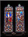 ST5190 : St Peter's church, St Pierre, near Chepstow - window by Ruth Sharville