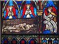 ST5190 : St Peter's church, St Pierre, near Chepstow - window detail by Ruth Sharville