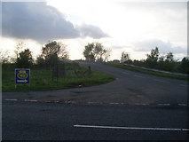 NS6965 : Commonhead Road from Gartcosh Road by Stephen Sweeney