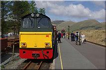 SH5752 : Rhyd Ddu Station by Stephen McKay