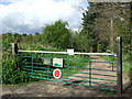 TG4601 : Gated Fire Access by Keith Evans