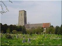 TM5286 : Kessingland St Edmund's church by Adrian S Pye