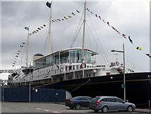 NT2677 : Royal Yacht Britannia by michael ely
