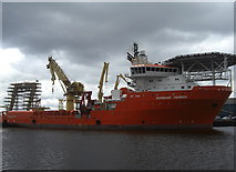 NT2677 : Normand Pioneer, Leith Docks by michael ely