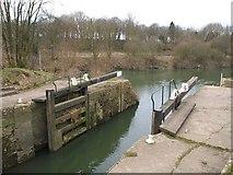 ST6569 : Keynsham Lock by Derek Harper