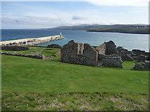 SC2484 : Peel Castle and Peel Bay by Chris Gunns