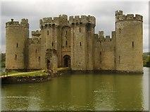 TQ7825 : Bodiam Castle by David Anstiss