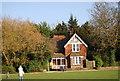 TQ8110 : The Lodge, Alexandra Park by N Chadwick