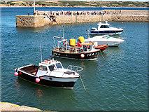 SW5130 : The Harbour, St Michael's Mount by David Dixon